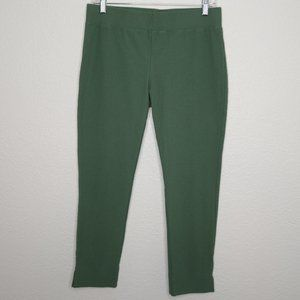 Eileen Fisher Stretch Crepe Cropped Pants
